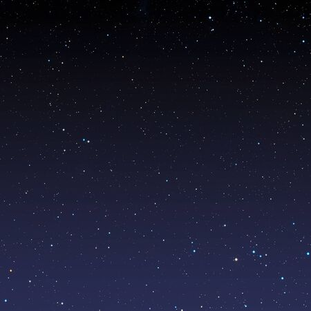 Stars in night sky. Science space background