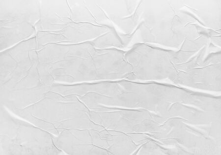 Surface of wet crumpled glued paper. Usefull for poster or banner design