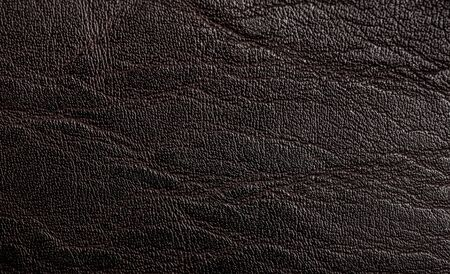 Surface of black leather texture or background