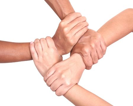 link love: Multicultural hands