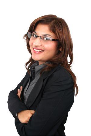 woman boss: Asian worker