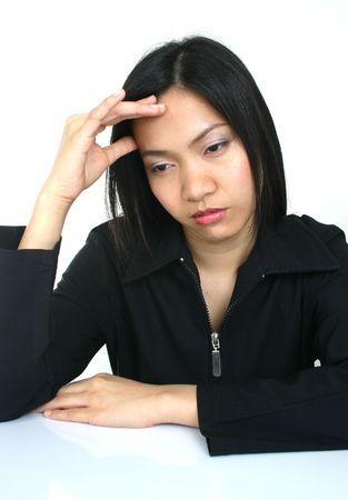 Portrait of asian woman. photo