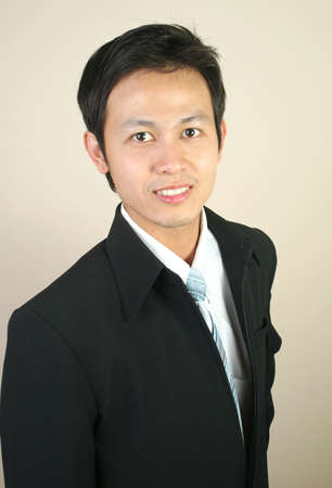 Young confident asian businessman (series) Stock Photo - 9013723