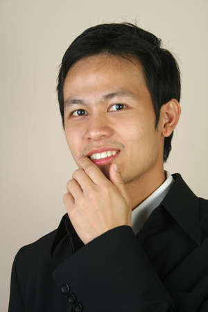 Young confident asian businessman Stock Photo - 9013793