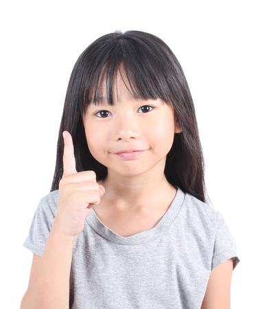 Portrait des jungen netten Mädchens Standard-Bild - 53340961