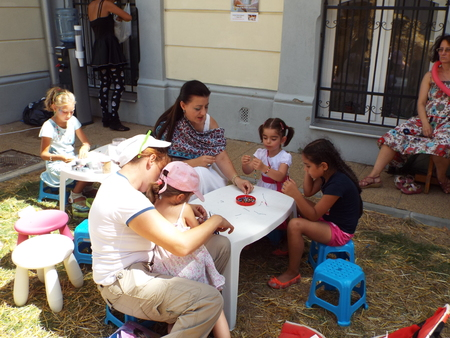 informs: Armenian Street Festival 2015 in Bucharest, Romania. The festival is intended to celebrate and promote Armenian culture and tradition in a pleasant and interactive manner for all the Bucharesters and attendance from the citys surroundings who want to see