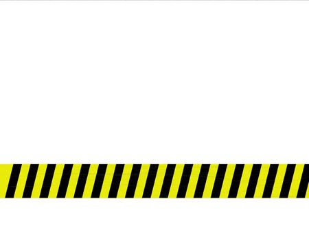 caution: Metal background with caution tape Stock Photo