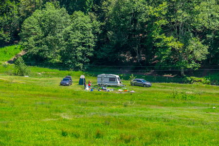 Deer Valley Camping. Deer Valley is a place for camping near Busteni, Romania.