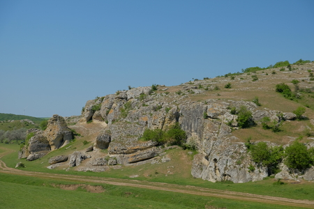 Images from the Gorges of Dobrogea located in Dobrogea Plateau in Romania Фото со стока