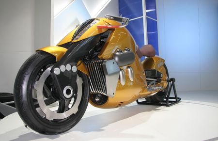 shiney: new motorbike