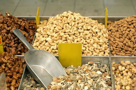 nut mix in market photo