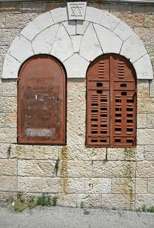 local synagogue, jerusalem, israel photo
