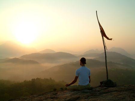pranayama: Meditation at Sunrise