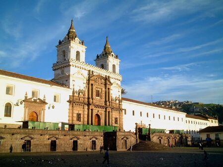 ecuador: Iglesia de San Francisco, quito, ecuador