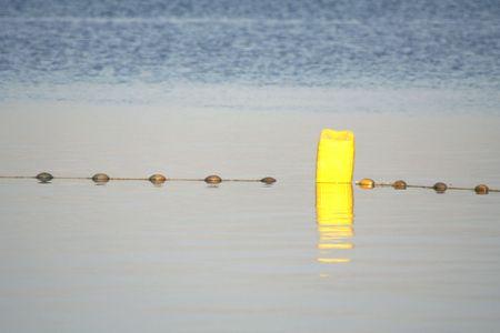 buoy in the dead sea Stock Photo - 3925670