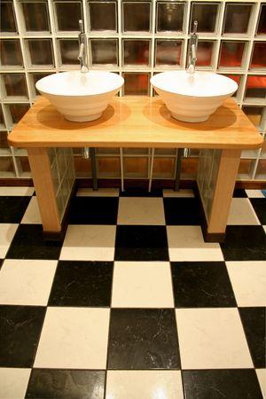 modern wash bassin photo