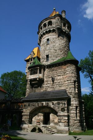 mutter tower in Landsberg, Germany photo