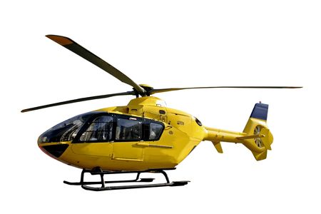 airfoil: rescue helicopter isolated