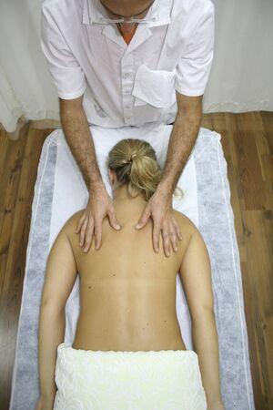 Chinese medicine treatment and massage photo