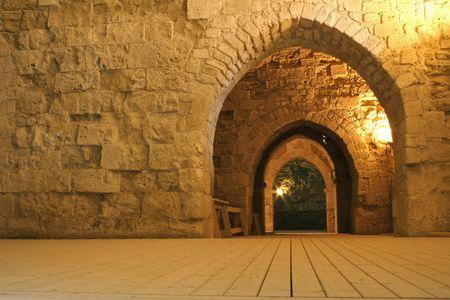preach: knight templer tunnel jerusalem israel
