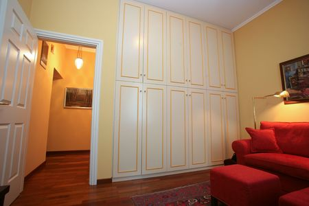 Classic style study with built-in wardrobe and sofa Stock Photo - 5690063