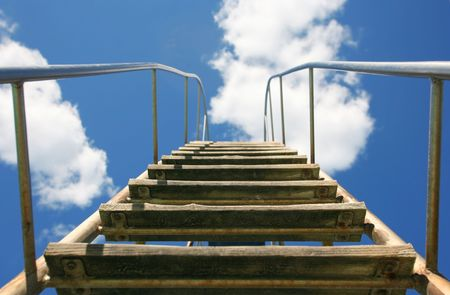sky is the limit: Stairway to heaven and beyond the sky and clouds