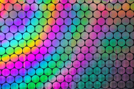 Circular holographic patterns of on background Stock Photo - 8991434