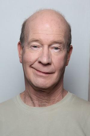smug: Man with a smug smile