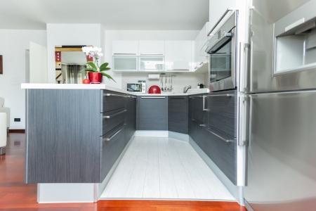 Kitchen inter in modern designed home Stock Photo - 17259899