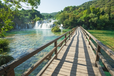 Krka National Park is one of the eight national parks in Croatia. photo