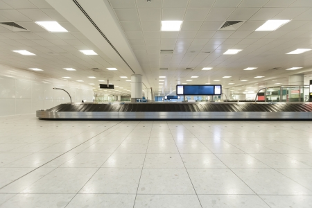 airport interior at baggage claim
