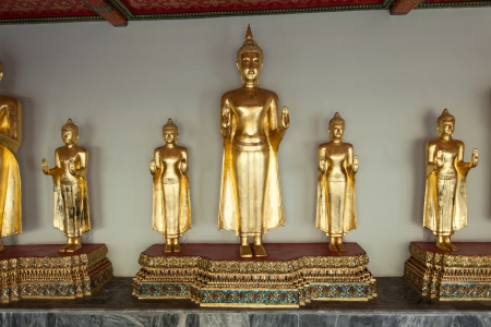 Buddha statues photo