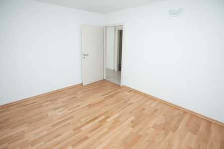 vacant: Empty house interior completely unfurnished