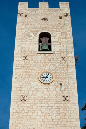 vence: Our Lady of the nativity Cathedral tower in Vence, France.