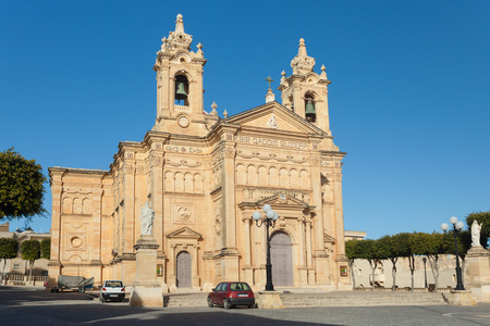st  joseph: QALA, MALTA - JANUARY 12, 2015: St. Joseph Parish Church.