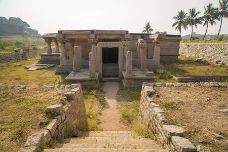 karnataka culture: Ruins of Hampi, India.