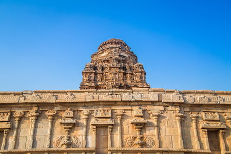 heritage site: Temples of Hampi, a UNESCO World Heritage Site, India. Editorial