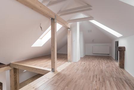 L'Inter di casa moderna con lo spazio vuoto