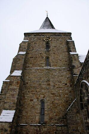 feastive: Church in the snow