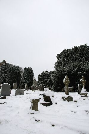 feastive: Graveyard in the snow