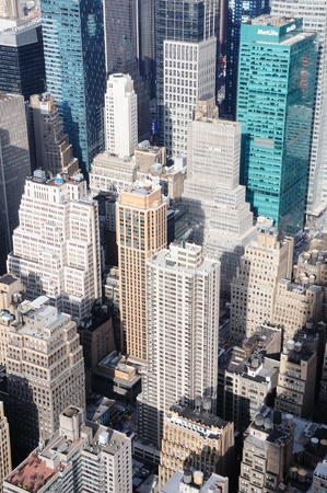 A Veiw of Manhattan From the Empire State Building Stock Photo - 12408267