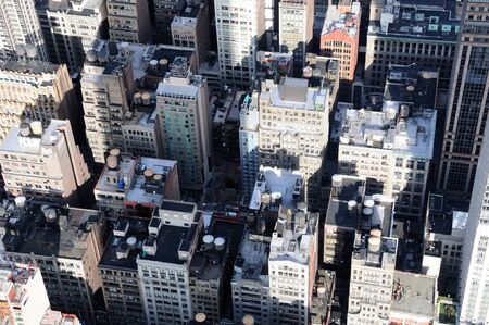 A Veiw of Manhattan From the Empire State Building Stock Photo - 12408265