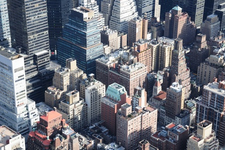 A Veiw of Manhattan From the Empire State Building Stock Photo - 12408266