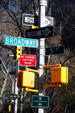 A Veiw a Traffic Sign and Cross walk From the dates 26th December 2011 to 1 January 2012 Stock Photo