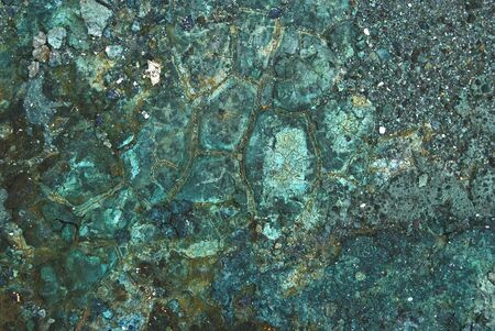 mineral textures of copper mines photo