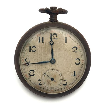 old pocket watch by the time Stock Photo - 6251730