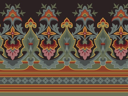 Great vintage classic border in editable vector file