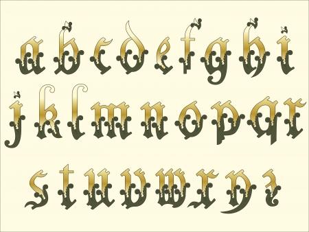 codex: Medieval Alphabet