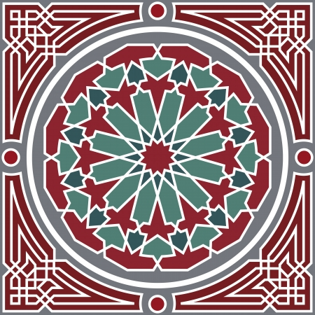 Arabesque naadloze patroon