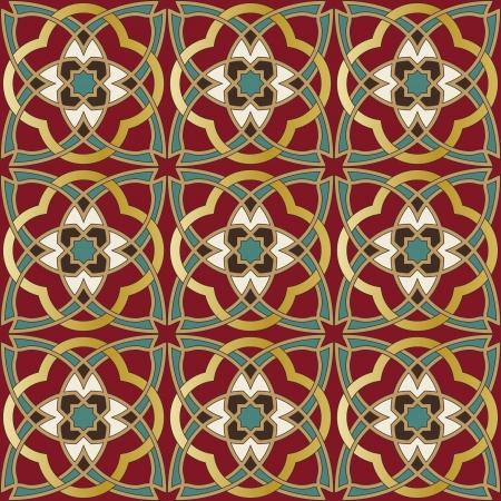 marocchini: Arabo seamless pattern nel file vettoriale modificabile
